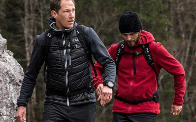 Men Hiking
