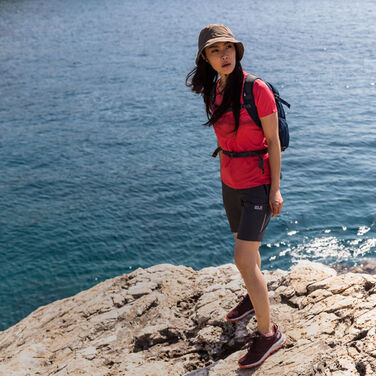 HIGH SUMMER HIKING OUTFIT WOMEN